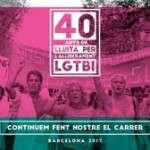40 anys de lluita per l'alliberament LGTBI (1 de juliol)
