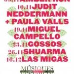Del 9 de novembre al 16 de desembre, se celebrarà una nova edició del festivalMúsiques Sensibles