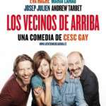 """L'èxit de Cesc Gay """"Los vecinos de arriba"""" torna a Barcelona amb Eva Hache, Maria Lanau, Josep Julien i Andrew Tarbet (de l'11 al 29 d'octubre) Teatre Condal"""