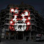 """""""Els colors de la terra"""" tenyeixen la façana de La Pedrera, amb un espectacle visual obert a tothom (24 de setembre)"""