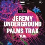 Journeys vuelve el próximo sábado 21 de octubre con  Jeremy Underground, Palms Trax e Ylia.