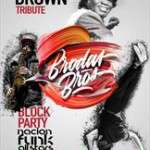 Block Party by Brodas Bros. James Brown tribute (de l'1 al 19 de novembre de 2017) Teatre Condal