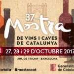 Barcelona acollirà del 27 al 29 d'octubre la 37ª edició de la Mostra de Vins i Caves de Catalunya al passeig Lluís Companys de Barcelona.