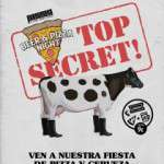 Beer & Pizza Night: Top Secret  domingo, 26/11/2017