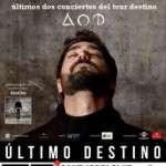 """ANTONIO OROZCO, ANUNCIA NUEVO CONCIERTO PARA EL FINAL DE SU GIRA """"TOUR DESTINO"""" 20 DE DICIEMBRE DE 2017 · SANT JORDI CLUB – BARCELONA"""