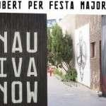 En el marc de la Festa Major de la Sagrera, jornada de portes obertes a la Nau Ivanow Dissabte, 18 novembre