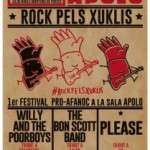 Rock pels Xuklis. 28 de desembre  concert solidari a la sala Apolo de Barcelona,