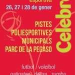 Festa d'inici de la temporada de dinamització esportiva al Parc de la Pegaso (26, 27 I 28 de gener)