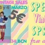 Special Vintage Spring/ Primavera 5€ ❤ La Petite Parade Vintage Market 2,3 i 4 de marzo