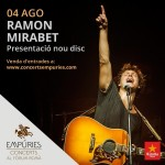 Ramon Mirabet i The Excitements actuaran el 4 d'agost al Fòrum Romà d'Empúries