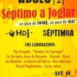 """SÉPTIMO A presenta el seu nou directe """"més directe"""" a la SALA APOLO en un concert amb HORA DE JOGLAR 27 d'abril,"""