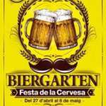 l Poble Espanyol es converteix en un típic Biergarten alemany per cinquè any consecutiu   Del 27 d'abril a l'1 de maig i del 4 al 6 de maig
