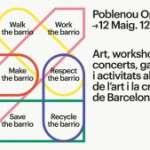 Arriba la 6ªedició del Poblenou Open Day,una nova jornada de portes obertes dedicada a l'art i a la creativitat (12 de maig)
