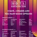 Los próximos 10 y 11 de agosto, el Parc del Fòrum se llenará de música, arte y revolución para disfrutar al completo del proyecto DGTL Barcelona.
