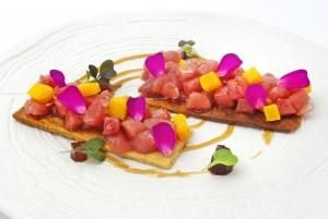 Restaurante Azahar_Tartar de Atún Rojo con Mango