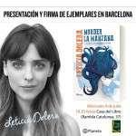 Presentación pública del libro Morder la manzana de Leticia Dolera en Barcelona: 4 de julio