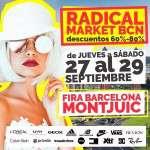 RADICAL MARKET! BCN  27, 28 y 29 de septiembre.