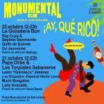 Monumental Club cumple un año los próximos días 20 y 21 de octubre con una edición especial de música latina: 'Ay, qué rico'