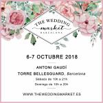 Vuelve The Wedding Market Barcelona los días 6 y 7 de octubre en  la Torre Bellesguard