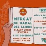 Torna el Mercat de Nadal del Llibre del TR3SC, el Sant Jordi d'hivern dissabte 1 de desembre