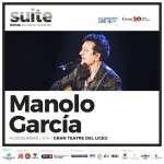MANOLO GARCÍA SE SUMA AL SUITE FESTIVAL 2019  14 de Diciembre de 2019 en el Gran Teatre del Liceu de Barcelona.