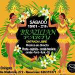 Brazilian Party en La Chirigota 19 de enero