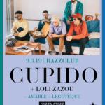 CUPIDO // 9 MARZO – RAZZMATAZZ CLUBS