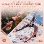 ·  Los yoguis Daniel Rama y Shakti Bird son los responsable del primer workshop, que tendrá lugar los próximos días 23 y 24 de febrero
