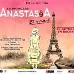 LA PRINCESA ANASTASIA, EL MUSICAL LLEGA AL AQUITÀNIA TEATRE  EL 8 DE MARZO CON MÁS DE 20 ARTISTAS EN EL ESCENARIO Y PARTITURA ORIGINAL