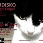 #MORDISKODiegoPaqué es presenta al REC ON FIRE d'Igualada el 10 de març