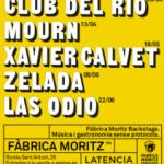 """FÀBRICA MORITZ BARCELONA LANZA EL CICLO DE CONCIERTOS """"FÀBRICA MORITZ BACKSTAGE"""" a partir del 30 de marzo"""