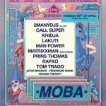 MO_BA microfest anuncia a 2MANYDJS como cabezas de cartel de su edición el próximo 30 de abril