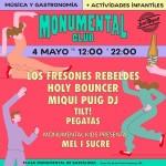 Monumental Club cierra temporada el 4 de mayo con Los Fresones Rebeldes