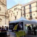 Sant Jordi a la plaça de la Mercè