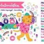 El dia minimúsica torna al Poble Espanyol el diumenge 19 de maig amb un cartell de luxe i diverses activitats per a minis de 0 a 12 anys per passar un dia espectacular!