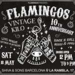 10th anniversary Flamingos vintage 18 de mayo