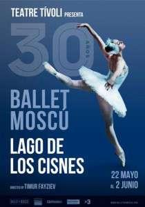 CARTEL BALLET MOSCU 30 anos