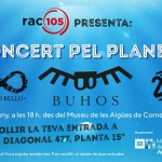 El Museu de les Aigües celebra el seu 15è aniversari amb el primer 'Concert pel planeta' 8 de juny
