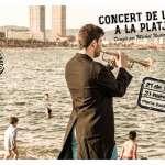 L'Orquestra Simfònica de Barcelona i Nacional de Catalunya torna a la platja per oferir el seu tradicional concert del Dia Internacional de la Música 21 de juny