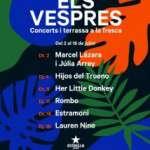 Els Vespres de la UB de este verano,  con carácter genuinamente barcelonés del 2 al 18 de julio