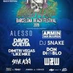 BBF Barcelona Beach Festival 13 de julio