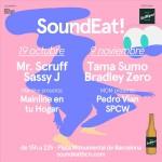 SoundEat cierra el año con dos fechas, el 19 de octubre y el 9 de noviembre, encabezadas por Mr. Scruff, Sassy J, Tama Sumo y Bradley Zero