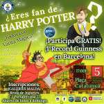 ¡Harry Potter Record Guinness Barcelona! 5 de octubre